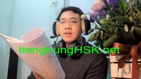 Luyện thi HSK 5 H51005 Đọc hiểu Thầy Vũ ChineMaster