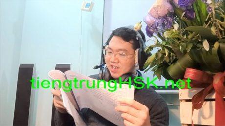Luyện thi HSK 6 H61001 Đọc hiểu Thầy Vũ ChineMaster