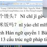 Từ vựng HSK 5 ChineMaster P9 luyện thi hsk online thầy vũ chinemaster tiengtrunghsk.net