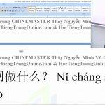 luyện thi hsk online từ vựng hsk 1 bài 228