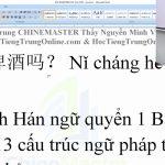 luyện thi hsk online từ vựng hsk 1 bài 229