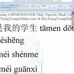 luyện thi hsk online từ vựng hsk 1 bài 234
