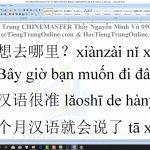 Trung tâm tiếng Trung Quận 10 thi thử HSK online bài 9