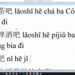 TiengTrungHSK học tiếng Trung Quận Thanh Xuân bài 4
