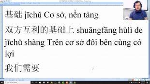 Luyện dịch tiếng Trung HSK 7 cấp tốc bài 6