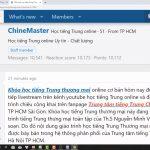 Luyện dịch tiếng Trung HSK 8 online bài tập 4