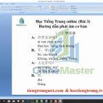 Luyện dịch tiếng Trung HSK 8 online bài tập 7