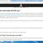 Học từ vựng HSK 7 HSK 8 HSK 9 mỗi ngày cùng Thầy Vũ
