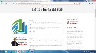 Tổng hợp ngữ pháp tiếng Trung HSK 7 tài liệu luyện thi HSK cấp 7
