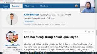 Giáo trình tiếng Trung thương mại online Bài 6
